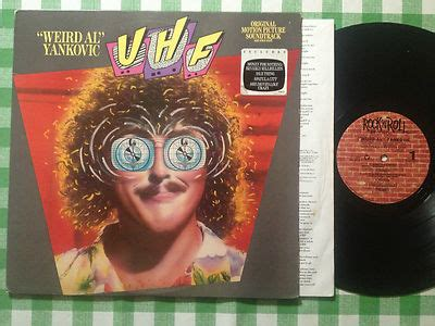 weird al yankovic uhf soundtrack roots vinyl guide