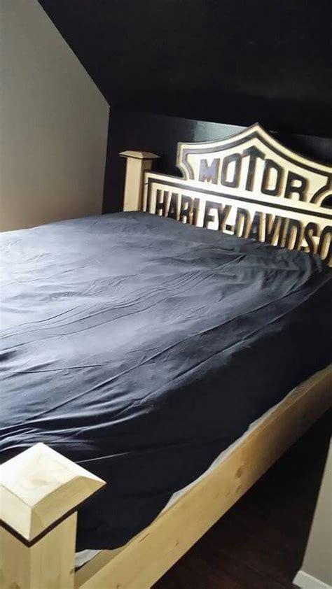 harley davidson headboard beds harley davidson and frames on pinterest