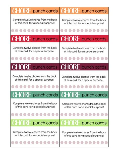 Chore Card Template by Best 25 Printable Chore Cards Ideas On Chore