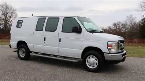 2009 ford e250 econoline cargo van for sale port window 2nd seat running boards rare crew van