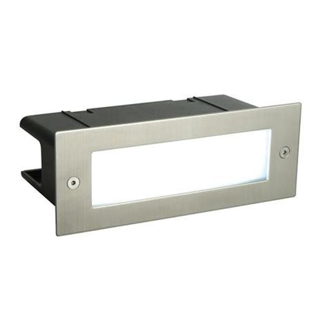 recessed outdoor wall lights brick light seina led recessed brick light 52104 the lighting superstore