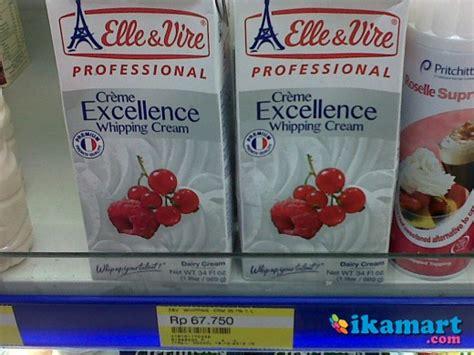 cara membuat whipped cream roselle sub distributor roselle whipping cream minuman