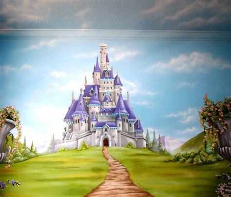 Princess Castle Wall Mural surlalune fairy tales blog jason hulfish mural artist