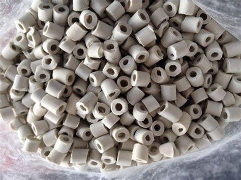 1 In Ceramic Raschig Rings Agram - 1 liter ceramic raschig rings reflux column packing