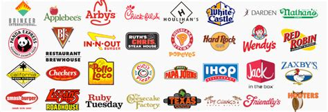 8 best images of restaurant logos and names games american restaurant chain logos