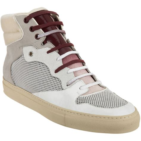 balenciaga s sneakers balenciaga high top sneaker in white for lyst
