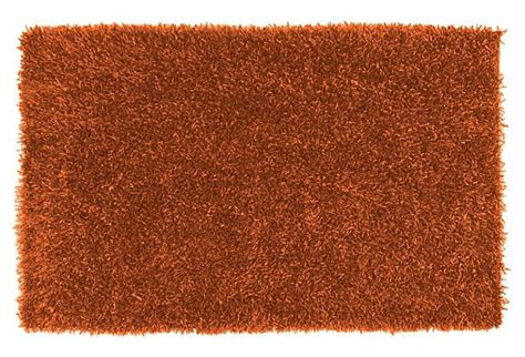 burnt orange shag rug lavinia shag rug burnt orange