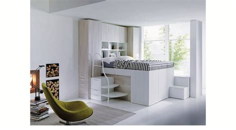container bed by dielle raises the bar on built in bed storage hide a closet platform bed tops spacious storage compartment
