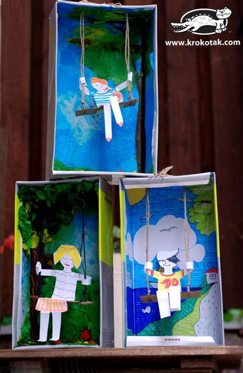 shoe box crafts for best 25 diorama ideas on diorama shoebox