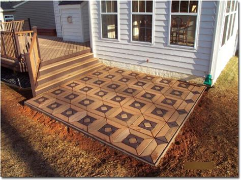 patio stone design outdoor patio flooring ideas deck