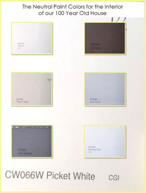 interior paint colors for our 100 year house