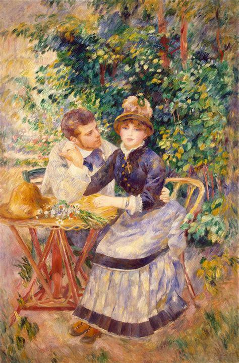 In The Garden by In The Garden 1885 Auguste Renoir Wikiart Org