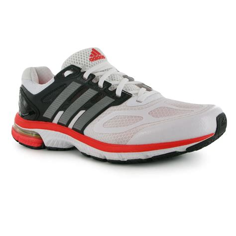 adidas ozweego stability mens running shoe trainers sneakers footwear wht blk rd ebay