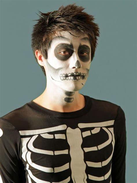 halloween makeup tutorial skeleton hgtv