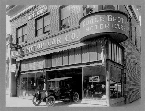 vintage car dealership images  pinterest