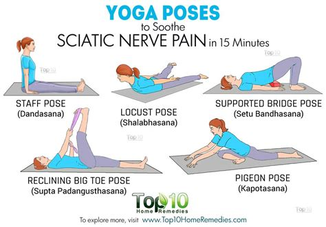poses to soothe sciatic nerve in 15 minutes