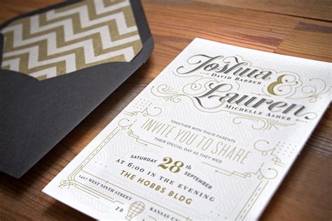 Wedding Concept Description by Fpo Barber Wedding Invites