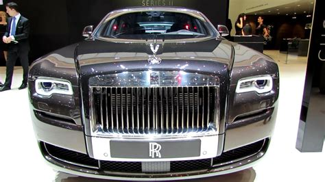 rolls royce ghost interior 2015 2015 rolls royce ghost series ii exterior interior