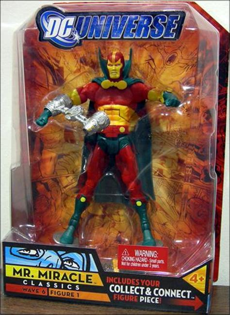 Dc Universe Wave 6 Mr Miracle dc universe classics mr miracle jan 2008 figure