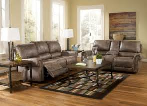 Living Room Furniture Sets Power Reclining Oberson Gunsmoke Power Reclining Living Room Set 74100