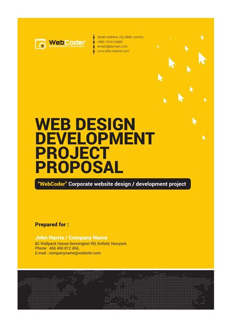 web design proposal rar web design and development agency web proposal by