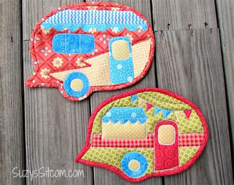 Free Quilted Potholder Pattern by Free Pattern Happy Cer Quilted Pot Holders