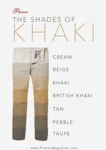 what colors go with khaki indiana jones s go to the complete guide to khakis