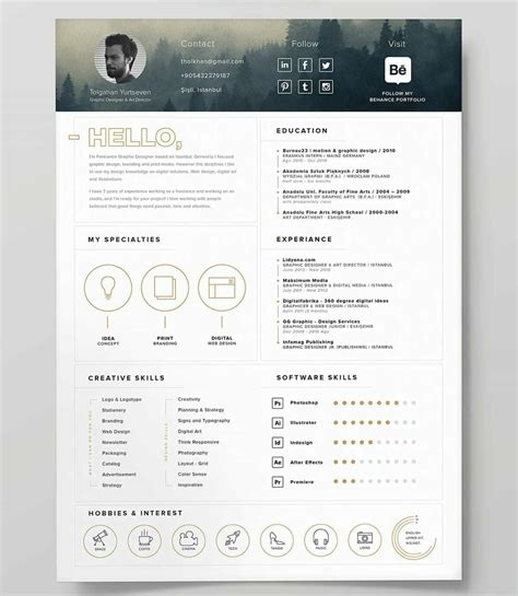 Best Resume Templates 15 Exles To Download Use Right Away Best Free Resume Templates