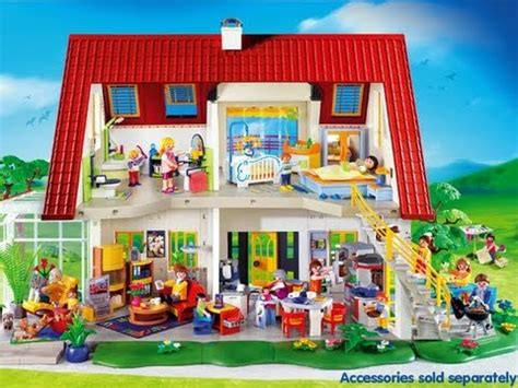 play mobile doll house playmobil dollhouse youtube