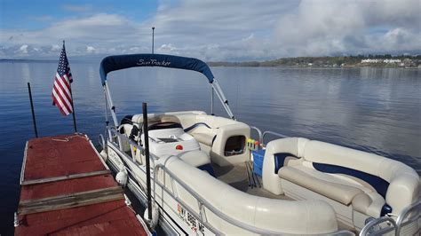 barge lights for sale sun tracker party barge signature series 2008 for sale for