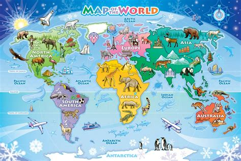 map   world floor puzzle outset media games