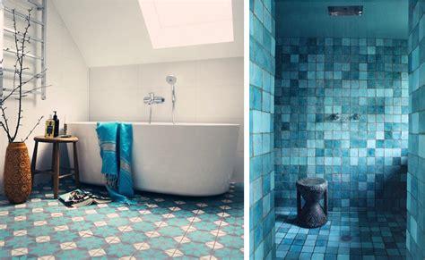faience salle de bain bleu marine