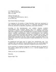 application cover letter free application letters
