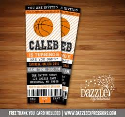 basketball ticket template free printable basketball ticket birthday invitation nba