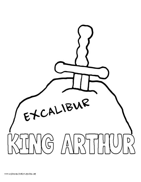 Coloring Pages Of King Arthur | king arthur coloring pages coloring home