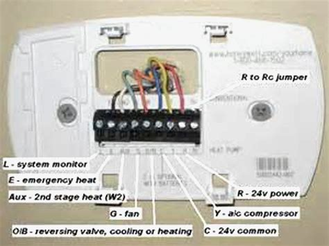 digital thermostat wiring diagram wiring diagram with