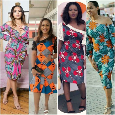 lastest ankara style for short gown latest fashion in gown 2018 hottest short gown styles for