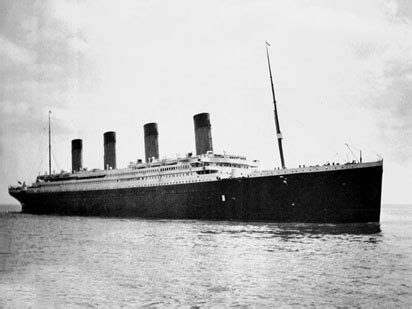 imagenes reales del barco titanic 191 quien es el verdadero culpable de que el barco titanic