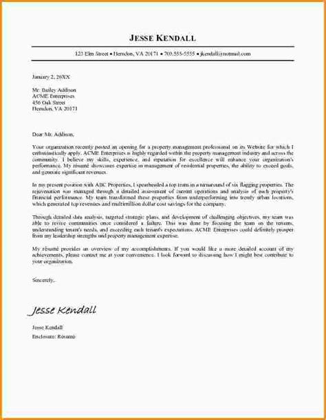 cover letter for management property management cover letter resume cv cover letter