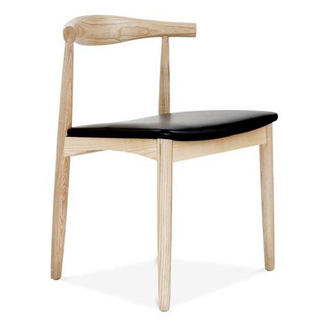 hans wegner style elbow chair  natural ash modern chairs cult uk