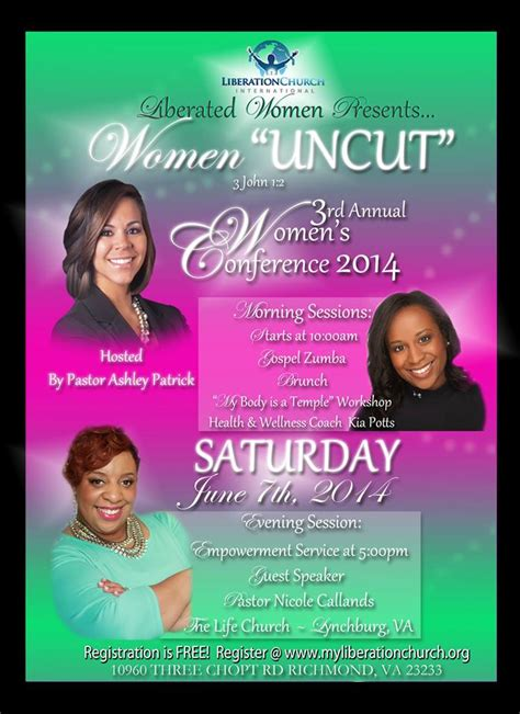themes in women s literature liberation church s 3rd annual women s conference theme