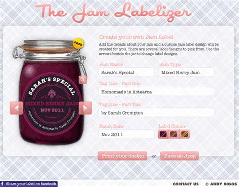 Etiketten Jamlabelizer by Marmeladengl 228 Ser Beschriften Mit Sch 246 Nen Etiketten Und
