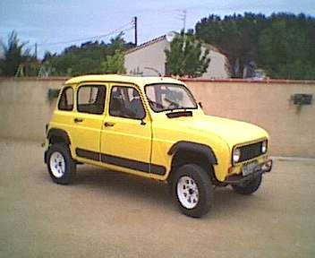 Renault 4 4x4 Modifications Of Renault 4 Www Picautos