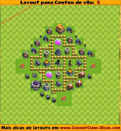 video de layout cv 5 layouts para centro de vila 5 para clash of clans clash