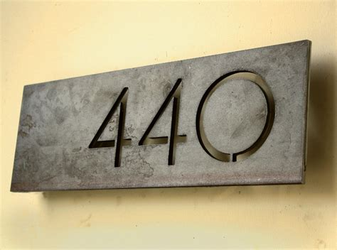 house number house numbers modern on pinterest house numbers modern houses and modern mailbox