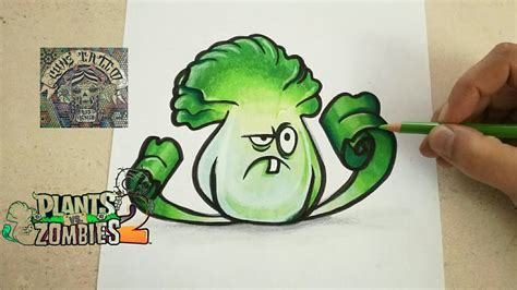 tattoo extreme plantas vs zombies como dibujar a bonk choi plants vs zombies 2 how to