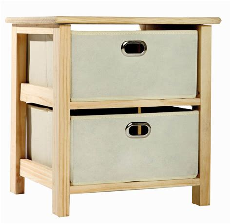 Wooden Storage Units With Drawers by Wood Storage Unit With Fabric Drawers
