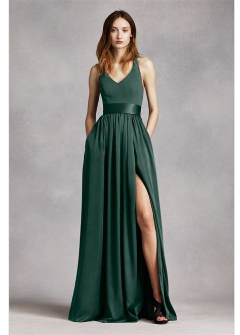 Dress Bahan Satin our 5 favourite green bridesmaids gowns in honour of st s day wedded