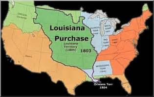 united states map louisiana purchase vocabulary for westward expansion the educational forum
