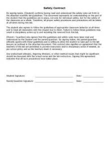 contract for safety template 32 sle contract templates in microsoft word
